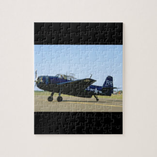 Grumman TBM Avenger, Left Front_WWII Planes Puzzles