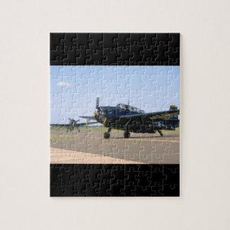 Grumman TBM Avenger. (plane_WWII Planes Jigsaw Puzzle