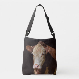 Grump Cow Crossbody Bag