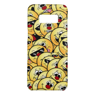 Grumpeys Silly Smiley Faces Set Case-Mate Samsung Galaxy S8 Case