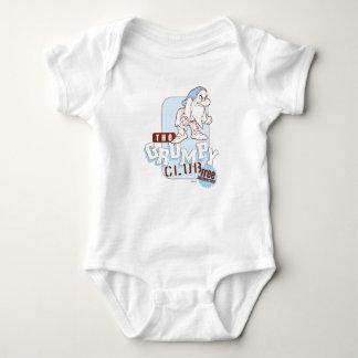Grumpy 7 baby bodysuit