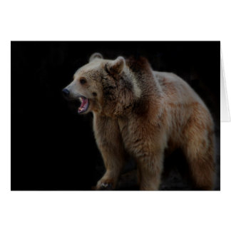 Grumpy Bear! Card