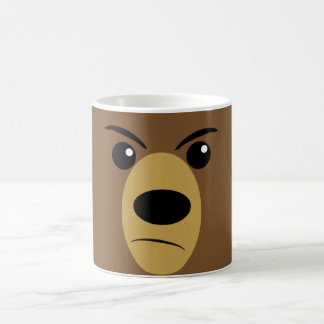 Grumpy Bear Face Coffee Mug