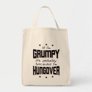 GRUMPY because HUNGOVER (blk)