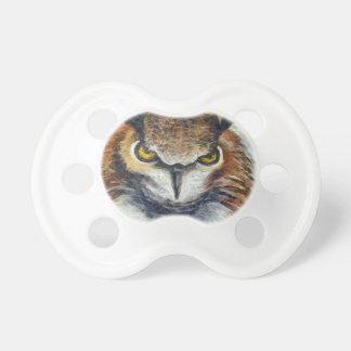 Grumpy Big Ear Owl Pacifier