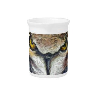 Grumpy Big Ear Owl Pitcher