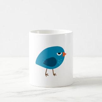 Grumpy Blue Bird Coffee Mug