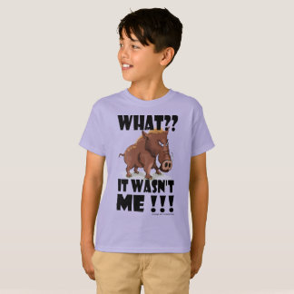 Grumpy Boar - Says it wasn't him. T-Shirt