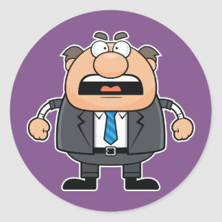 Grumpy Boss Stickers
