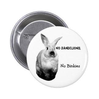 Grumpy Bunny Zoe Button