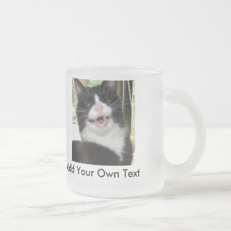 Grumpy Cat 10 Oz Frosted Glass Coffee Mug