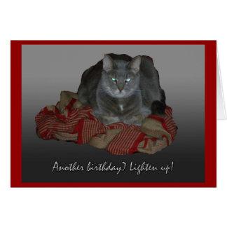 Grumpy Cat Another Birthday Card