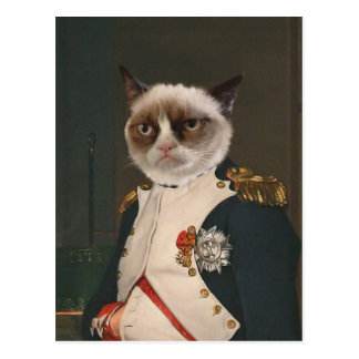 Grumpy Cat Classic Painting Postcard
