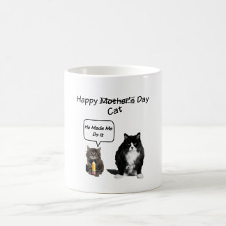Grumpy Cat / Cute Kitten Mother's Day Mug