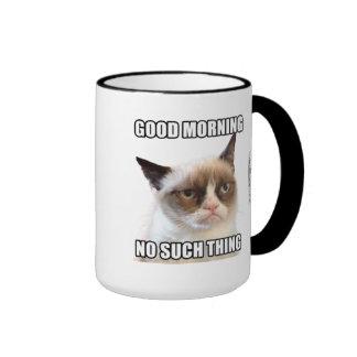Grumpy Cat™ Good Morning - No Such Thing Ringer Mug