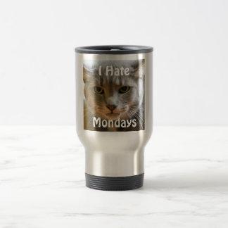 Grumpy Cat Hates Mondays 15 Oz Stainless Steel Travel Mug
