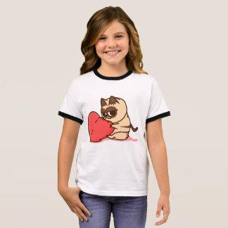 Grumpy cat Love Ringer T-Shirt