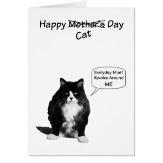 Grumpy Cat Mother's Day Note Cards