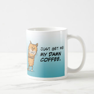 Grumpy Cat Wants Coffee Classic White Coffee Mug