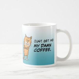 Grumpy Cat Wants Coffee Classic White Coffee Mug