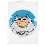 Grumpy Cow Card