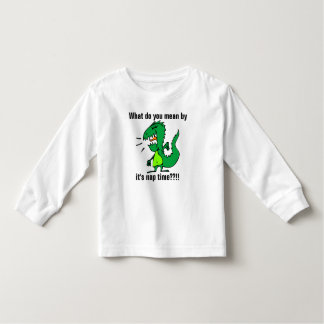 Grumpy Dinosaur Nap Time Toddler T-shirt