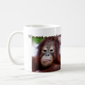 Grumpy Face Coffee Drinker Coffee Mug