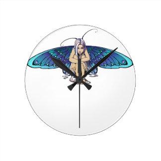Grumpy fairy clock