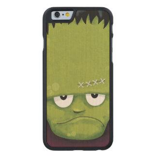 Grumpy Frankenstein Monster Halloween Carved® Maple iPhone 6 Case