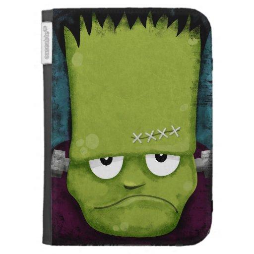 Grumpy Frankenstein's Monster Halloween Kindle 3 Covers