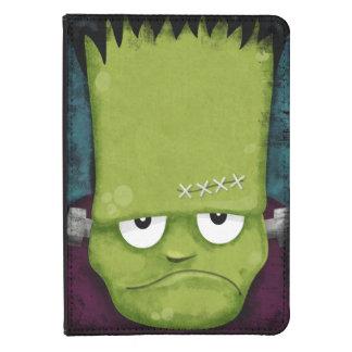 Grumpy Frankenstein's Monster Halloween Kindle Case
