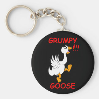 Grumpy Goose Keychain
