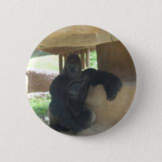 Grumpy Gorilla 2 Inch Round Button