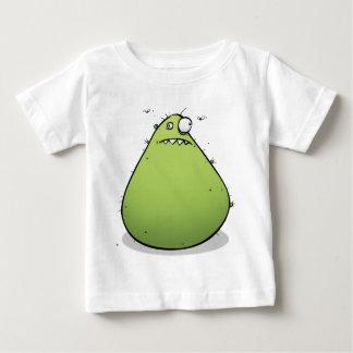 Grumpy Green Monster Funny Weird Baby T-shirt