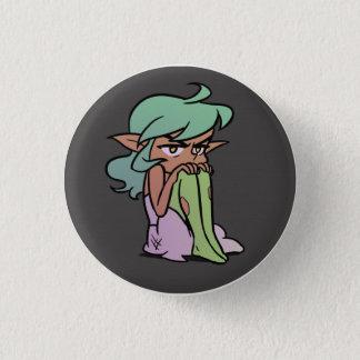 Grumpy Harpy 1 Inch Round Button