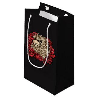 Grumpy Hedgehog Gift Bag