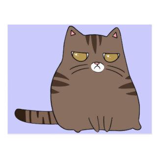 Grumpy Kitty Postcard