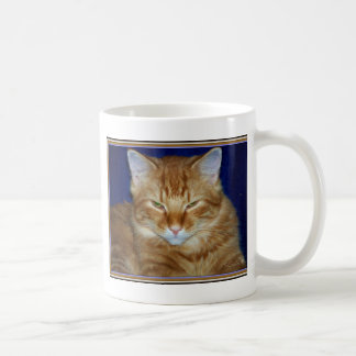 Grumpy Maine Coon Cat Coffee Mug