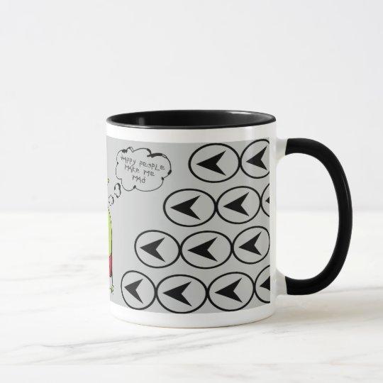 Grumpy Martian Mug
