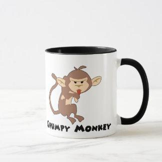 Grumpy Monkey Mug