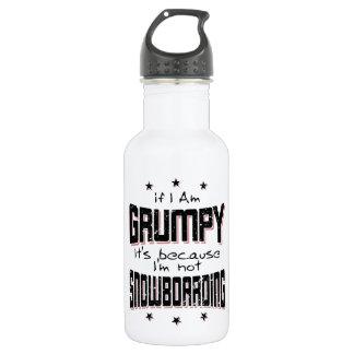 GRUMPY not SNOWBOARDING (blk)
