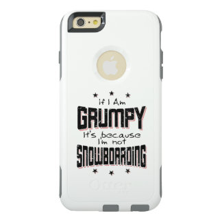 GRUMPY not SNOWBOARDING (blk) OtterBox iPhone 6/6s Plus Case