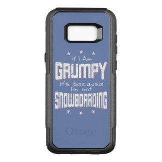 GRUMPY not SNOWBOARDING (wht) OtterBox Commuter Samsung Galaxy S8+ Case