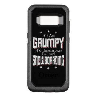 GRUMPY not SNOWBOARDING (wht) OtterBox Commuter Samsung Galaxy S8 Case
