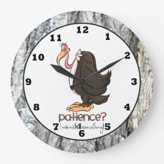 Grumpy Old Buzzard wall clock