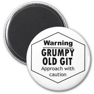 Grumpy Old Git Funny Magnet
