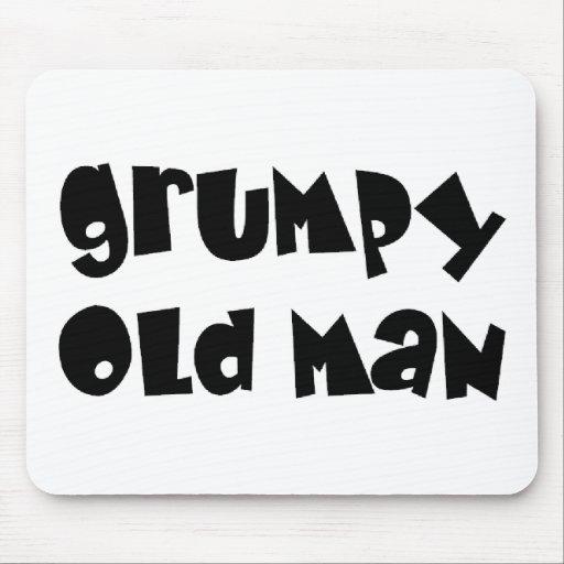 Grumpy old man mousepad