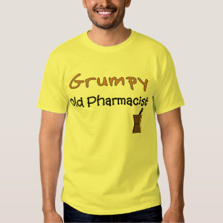 Grumpy Old Pharmacist T-Shirts and Gifts