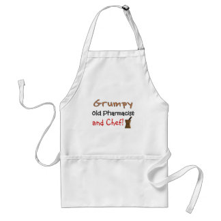 Grumpy Old Pharmacist T-Shirts and Gifts Standard Apron