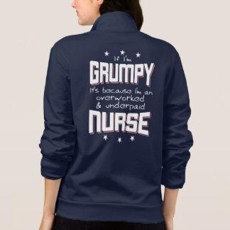 GRUMPY overworked underpaid NURSE (wht)